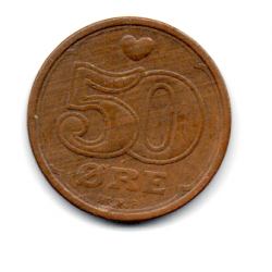Dinamarca - 1989 - 50 Ore