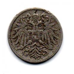 Monarquia Austro-Húngara - 1895 - 10 Heller