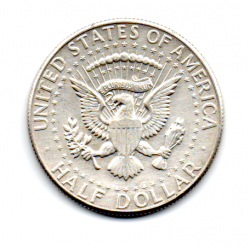 Estados Unidos - 1964 - 50 Cents - Half Dollar - Prata .900 - Aprox. 12,5 g - 31mm
