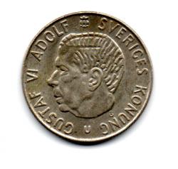 Suécia - 1966 - 1 Krona - Prata .400 - Aprox. 7 g - 25mm