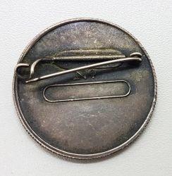1932 - Broche Cunhado com o Mesmo Cunho do Reverso da Medalha Moeda Paulista 1932 - Diâmetro 37mm - Peso 14,45g