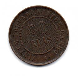 1904 - 20 Réis - Moeda Brasil