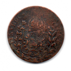 1827R - 20 Réis - Moeda Brasil Império