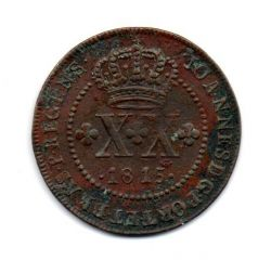1815 - XX Réis - Moeda Brasil Colônia