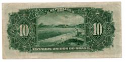 .R110d - 10 Mil Réis - 17° Estampa - Assinada a mão / Autografada - Série 788 - Campos Salles - Data: 1942