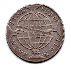 1812 - 960 Réis - Prata - Patacão - Moeda Brasil Colônia