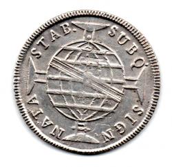 1815 - 960 Réis - Prata - Patacão - Moeda Brasil Colônia