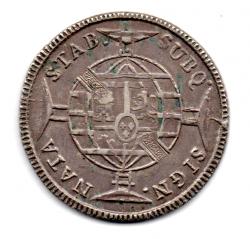 1816 - 960 Réis - Prata - Patacão - Moeda Brasil Colônia