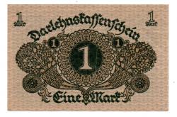 Alemanha - República de Weimar - 1920 - 1 Mark - Cédula Estrangeira