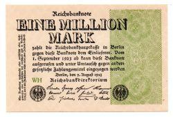 Alemanha - República de Weimar - 1923 - 1.000.000 Mark - Cédula Estrangeira