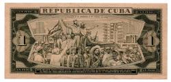 Cuba - 1 Peso - Cédula Estrangeira