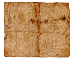 França - 1792 - 10 Sols (Revolução Francesa) - Cédula Estrangeira