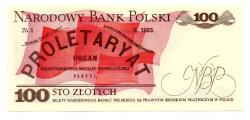 Polônia - 100 Zlotych - Cédula Estrangeira