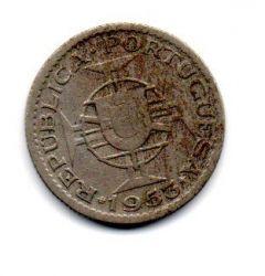 Angola - 1953 - 2,50 Escudos