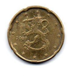 Finlândia - 2001 - 20 Euro Cent