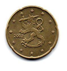 Finlândia - 2002 - 20 Euro Cent