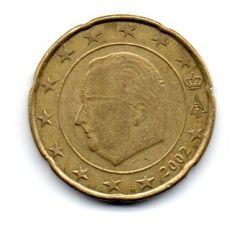 Bélgica - 2002 - 20 Euro Cent