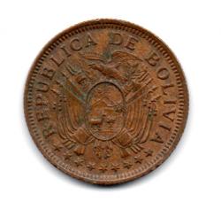 Bolívia - 1951 - 5 Bolivianos