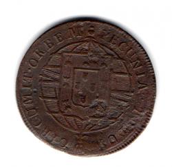 1819R - XX Réis - Moeda Brasil Reino
