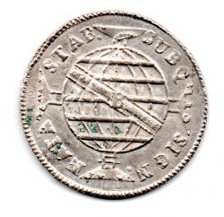 1814B - 960 Réis - Prata - Patacão - Moeda Brasil Colônia