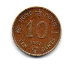 Hong Kong - 1983 - 10 Cents