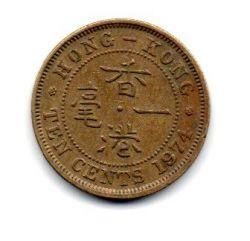 Hong Kong - 1974 - 10 Cents