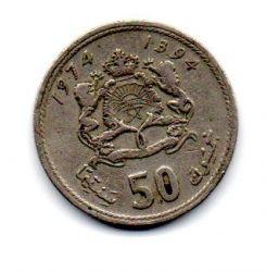 Marrocos - 1974 - 50 Santimat