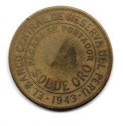 Peru - 1943 - 1 Sol