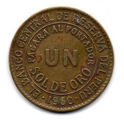 Peru - 1960 - 1 Sol