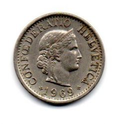 Suíça - 1969 - 10 Rappen