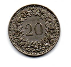 Suíça - 1947 - 20 Rappen