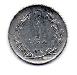 Turquia - 1972 - 1 Lira