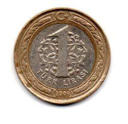 Turquia - 2009 -1 Lira