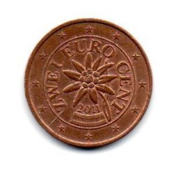 Áustria - 2011 - 2 Euro Cent