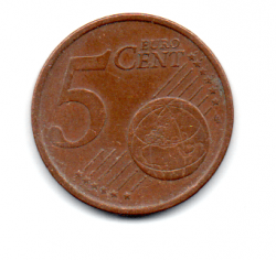 Irlanda - 2002- 5 Euro Cent