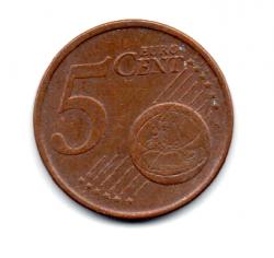 Irlanda - 2003- 5 Euro Cent