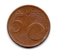 Irlanda - 2004- 5 Euro Cent