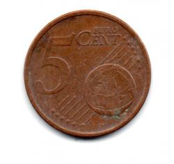 Irlanda - 2007- 5 Euro Cent