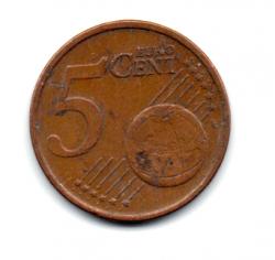 Irlanda - 2008 - 5 Euro Cent