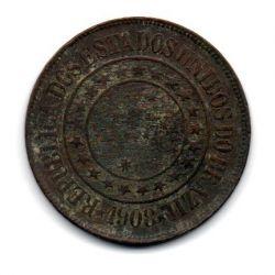 1908 - 40 Réis  - Moeda Brasil