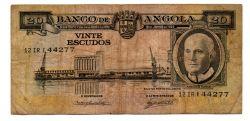 Angola - 20 Escudos - Cédula Estrangeira