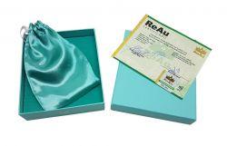 Prata - (R$ 11,94 o grama) - Barra de 125,4 gramas de Prata Pura .999 - Com certificado ReAu