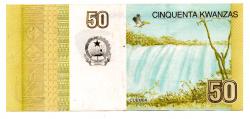 Angola - 50 Kwanzas - Cédula Estrangeira