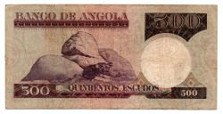 Angola - 500 Escudos - Cédula Estrangeira