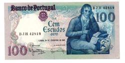 Portugal - 100 Escudos - Cédula Estrangeira