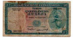 Timor  - 50 Escudos - Cédula Estrangeira