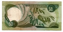 Angola - 50 Escudos - Cédula Estrangeira  - BC