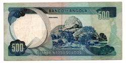 Angola - 500 Escudos - Cédula Estrangeira - MBC