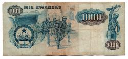 Angola - 1.000 Kwanza - Cédula Estrangeira - BC