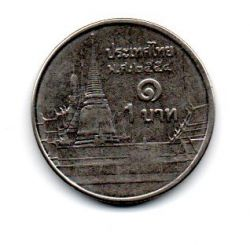 Tailândia - 2011 - 1 Baht